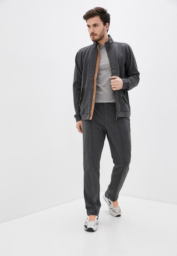 Relax Mode | Мужской серый костюм спортивный Relax Mode | Clouty