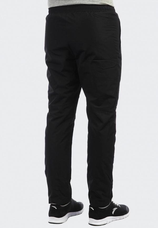 Anta | черный Мужские зимние черные утепленные брюки Anta | Clouty