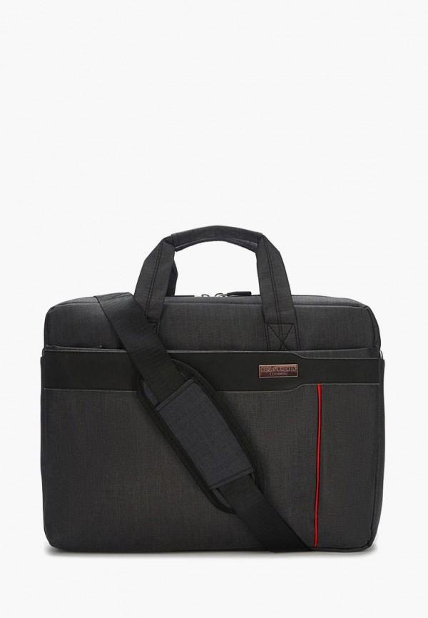 Henry Backer | черный Мужская черная сумка Henry Backer | Clouty
