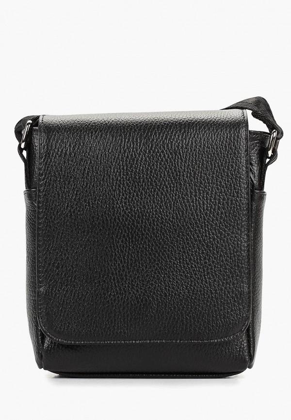 Suffle | черный Мужская черная сумка Suffle | Clouty