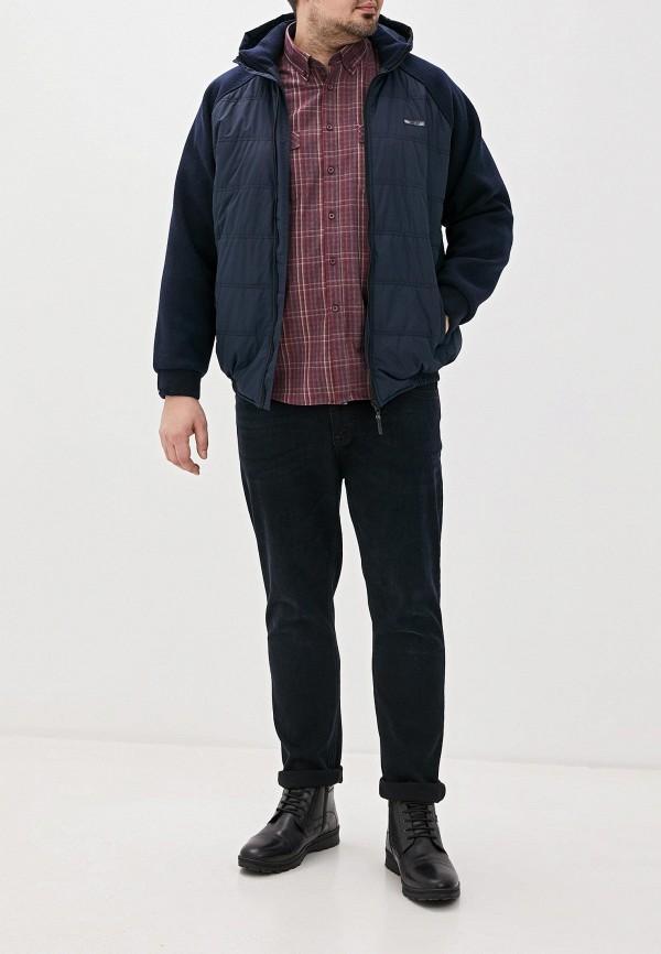 Galion | синий Мужская синяя утепленная куртка Galion | Clouty