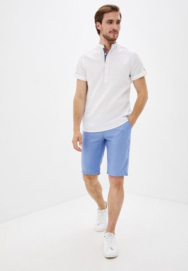 Mossmore   голубой Мужские голубые шорты Mossmore   Clouty