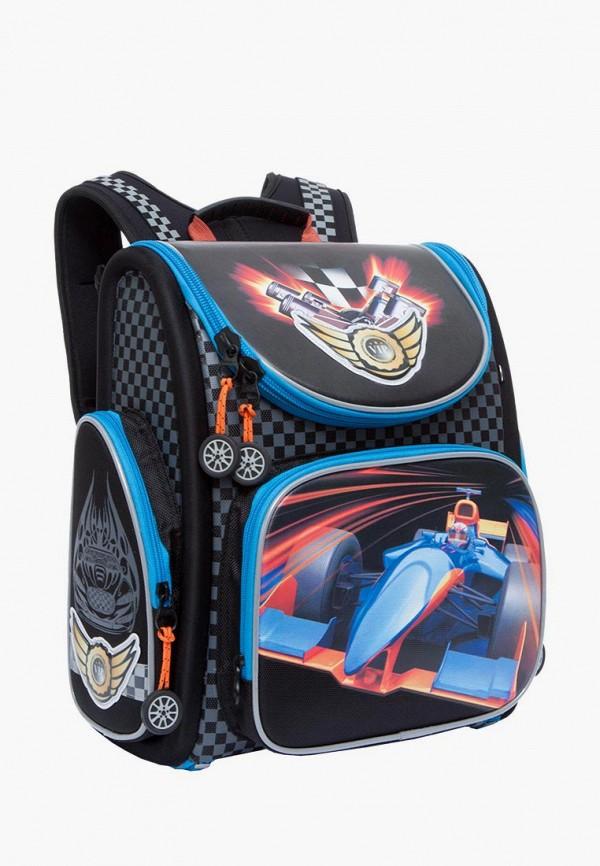 Grizzly | Черный рюкзак Grizzly для мальчиков | Clouty
