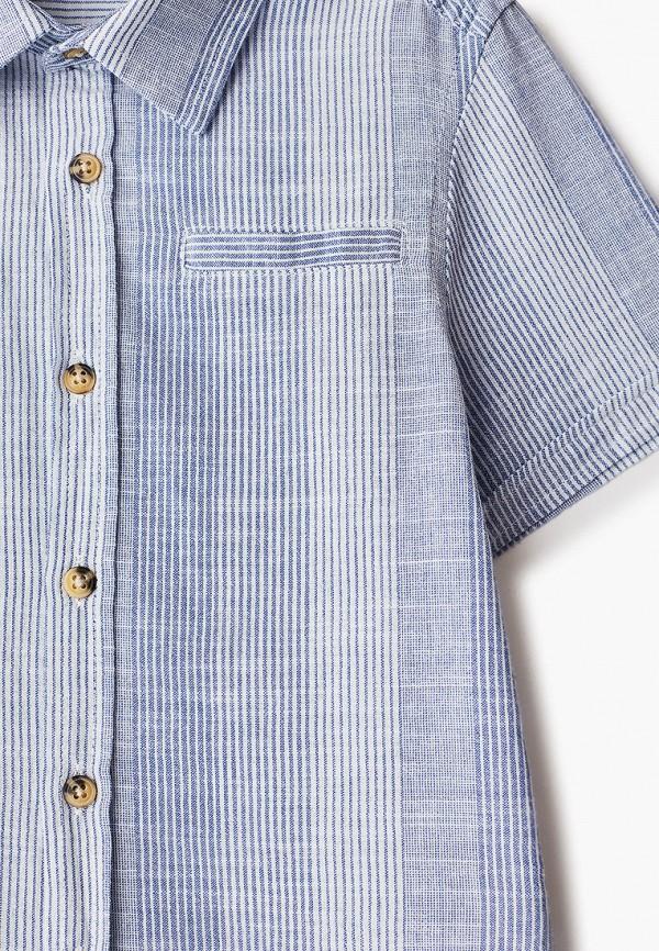Defacto   голубой Летняя голубая рубашка Defacto для мальчиков   Clouty
