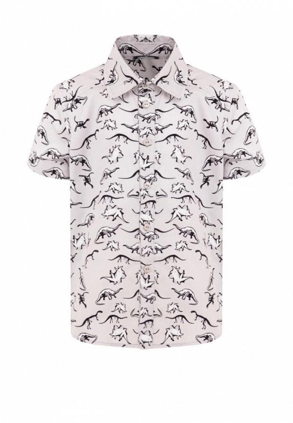 DanMaralex   серый Серая рубашка DanMaralex для мальчиков   Clouty