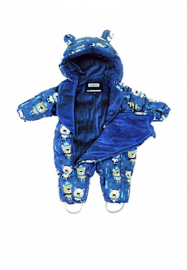Premont | Синий утепленный комбинезон Premont для мальчиков | Clouty