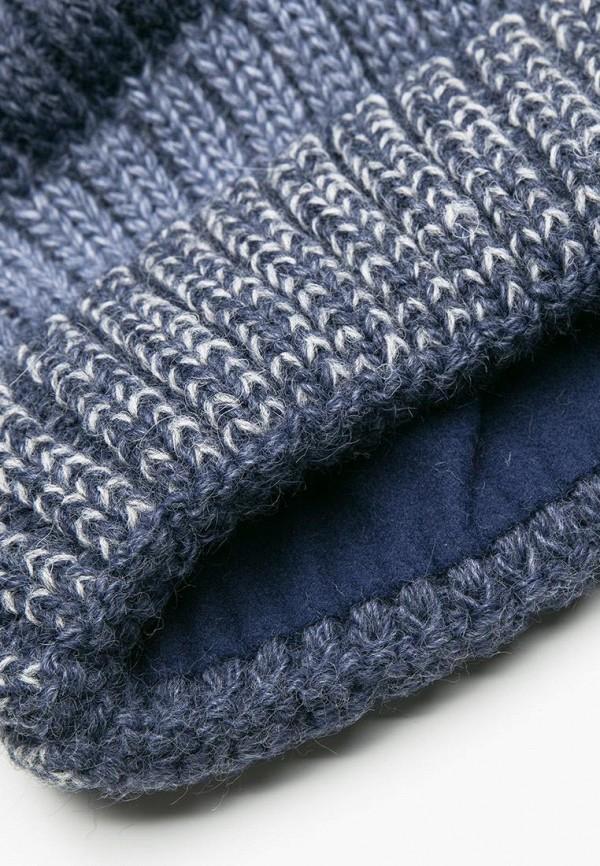 Coccodrillo   синий Зимняя синяя шапка Coccodrillo для мальчиков   Clouty
