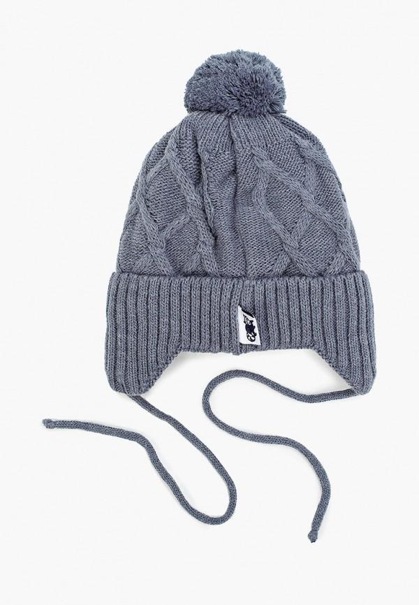 Чудо-кроха | синий Зимняя синяя шапка Чудо-кроха для мальчиков | Clouty