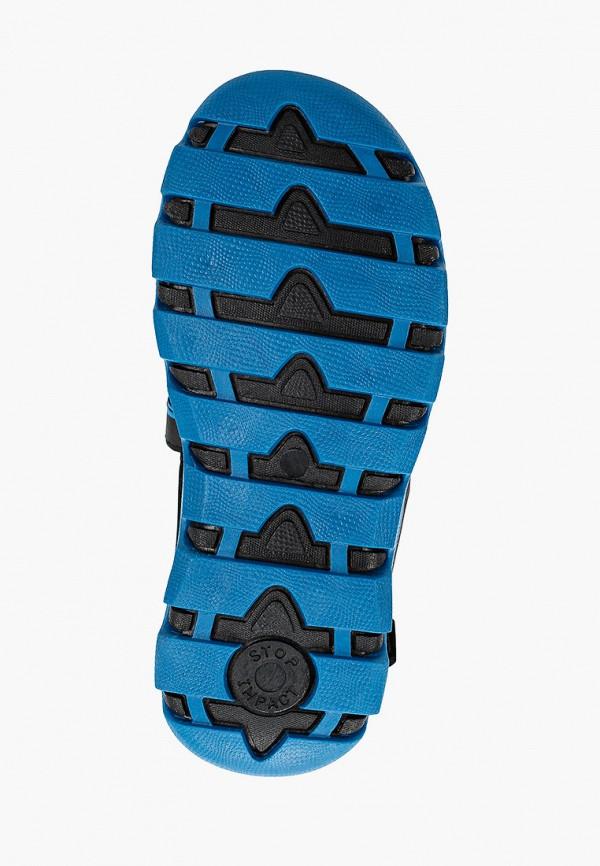 Regatta   черный Летние черные сандалии Regatta резина для мальчиков   Clouty