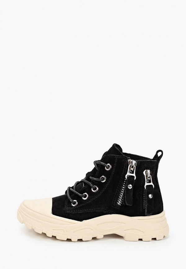 Капитошка | черный Ботинки Капитошка | Clouty