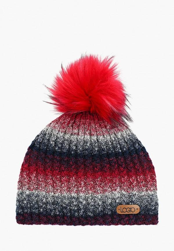 Logro kids | бордовый Зимняя бордовая шапка Logro kids для младенцев | Clouty