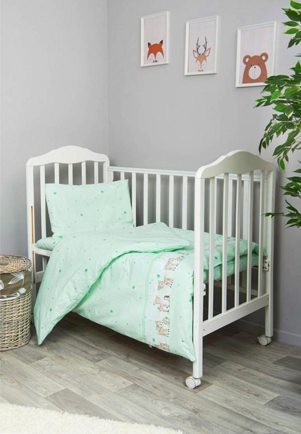 Сонный Гномик   зеленый Зеленое детское постельное белье Сонный Гномик для младенцев   Clouty