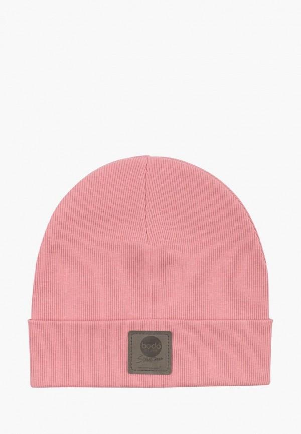 Bodo | розовый Розовая шапка Bodo для младенцев | Clouty