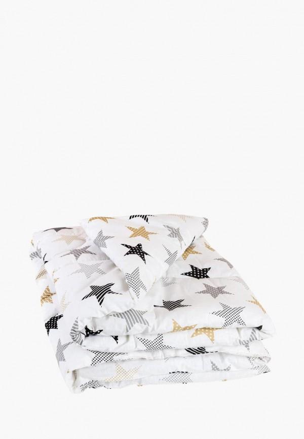 Сонный Гномик | белый Белое детское одеяло Сонный Гномик для младенцев | Clouty
