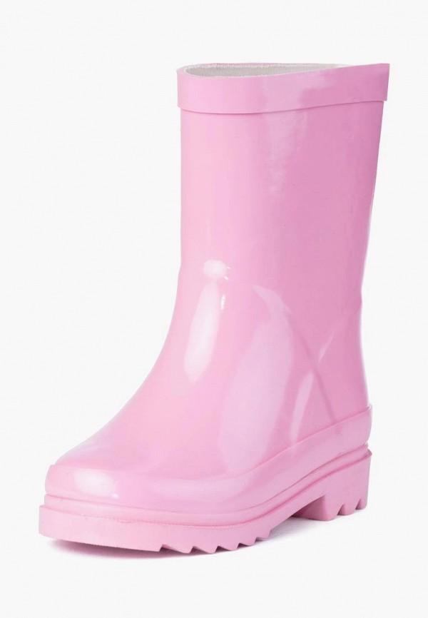 PlayToday | розовый Розовые резиновые сапоги PlayToday резина для девочек | Clouty