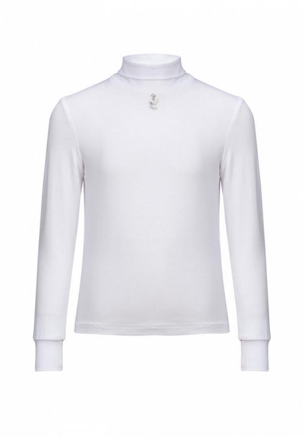 Stylish Amadeo | белый Белая водолазка Stylish Amadeo для девочек | Clouty