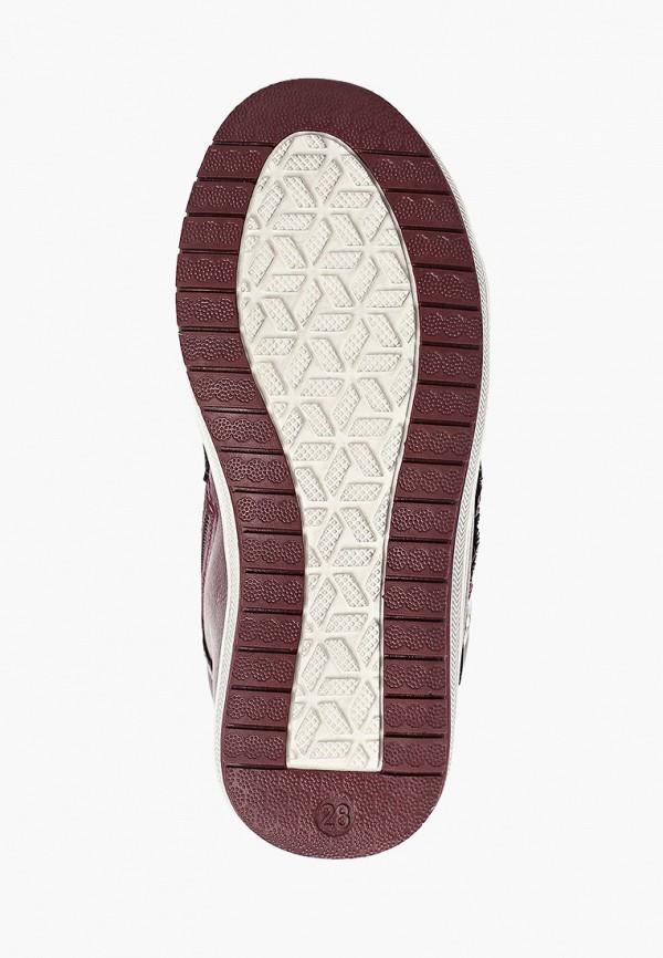 Honey Girl | бордовый Зимние бордовые ботинки Honey Girl термопластиковая резина для девочек | Clouty