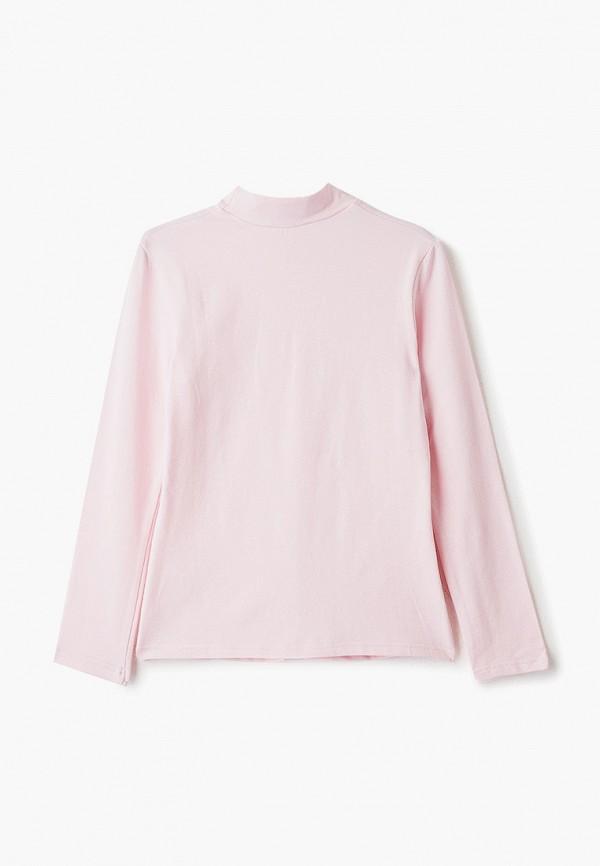 Школьная Пора | розовый Розовая водолазка Школьная Пора для девочек | Clouty