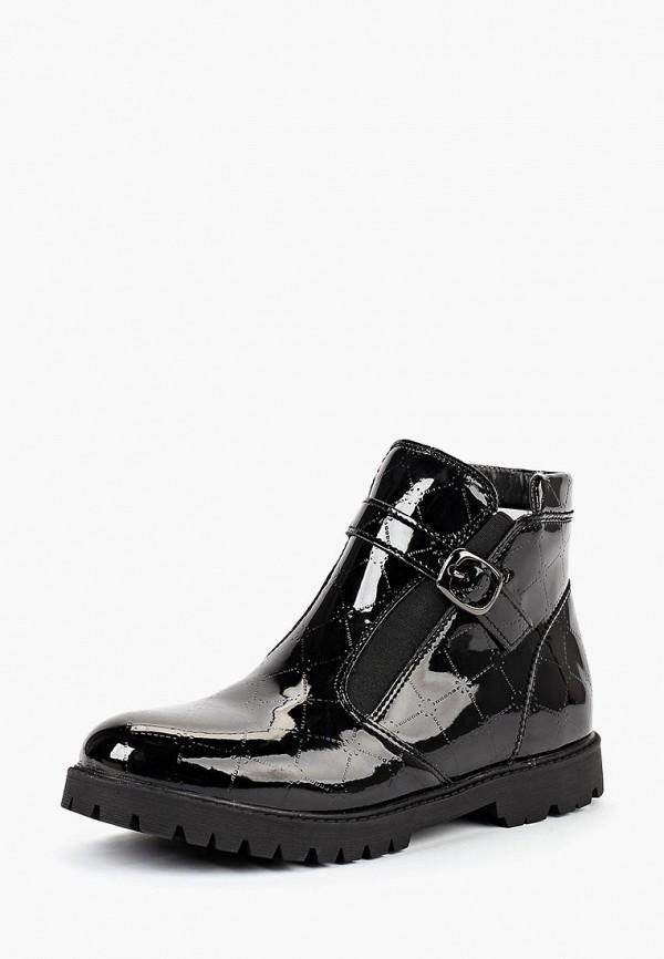 T.Taccardi | черный Черные ботинки T.Taccardi термопластиковая резина для девочек | Clouty