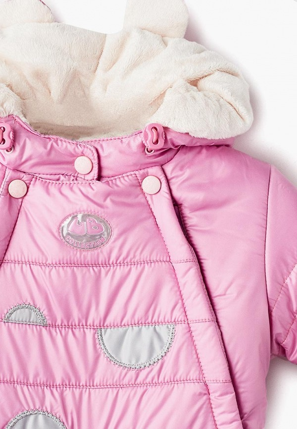 Little Boy | розовый Комбинезон утепленный Little boy | Clouty