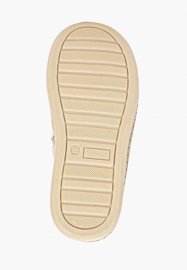 Honey Girl   белый Белые ботинки Honey Girl термоэластопласт для девочек   Clouty