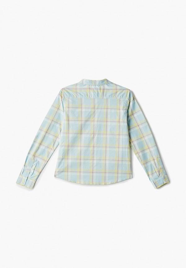 INCITY | зеленый Зеленая рубашка INCITY для девочек | Clouty