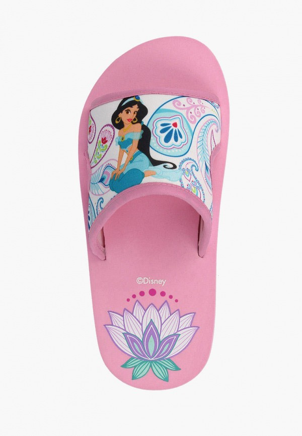 De Fonseca | розовый Летние розовые сланцы De Fonseca полимер для девочек | Clouty
