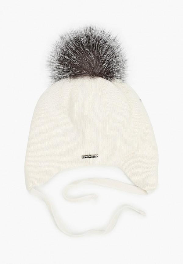 Aleksa | белый Зимняя белая шапка Aleksa для девочек | Clouty