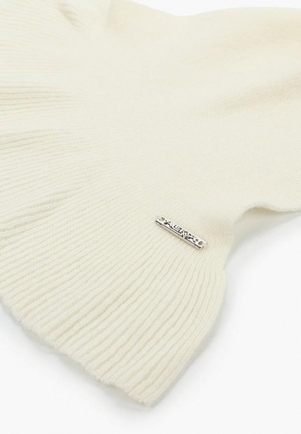 Aleksa | Зимний белый шарф Aleksa для девочек | Clouty