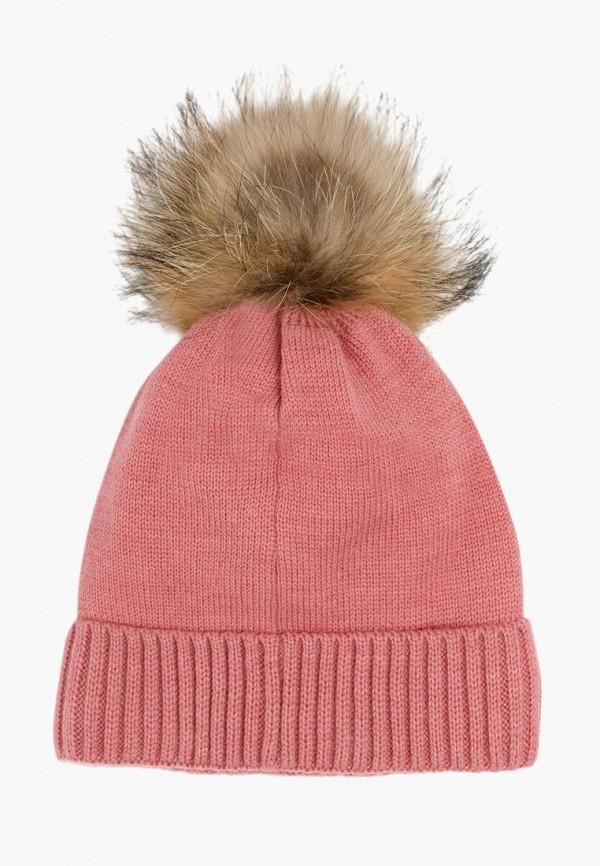 Finn Flare | розовый Зимняя розовая шапка Finn Flare для девочек | Clouty