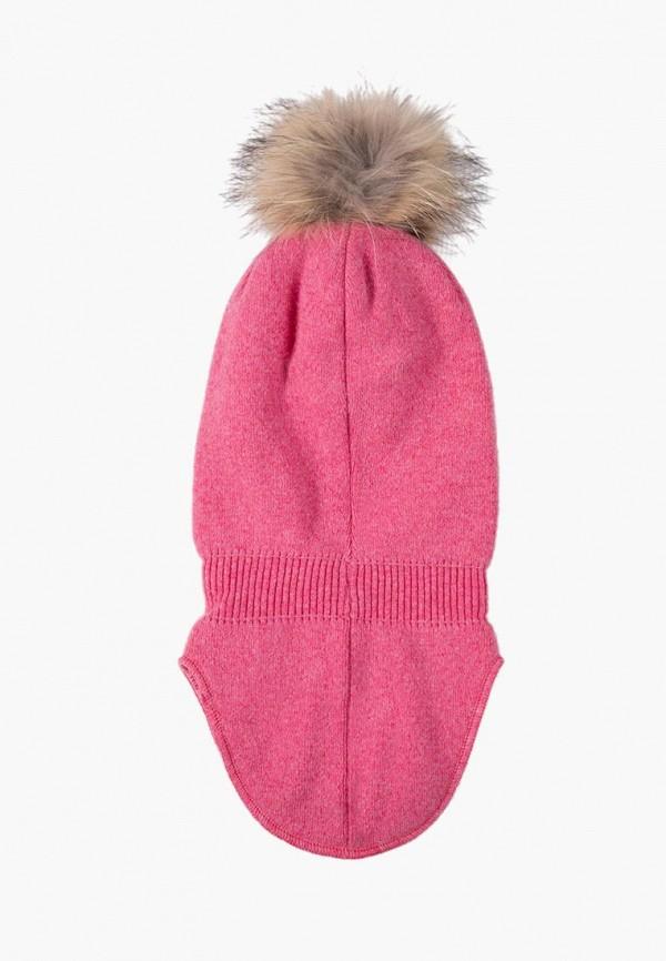 Finn Flare | розовый Розовая балаклава Finn Flare для девочек | Clouty