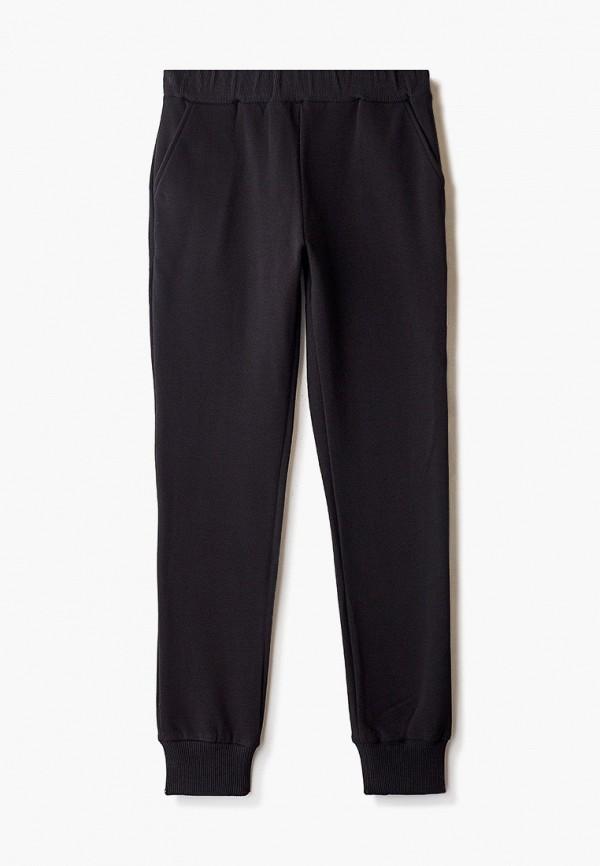 Tforma | черный Черные спортивные брюки Tforma для девочек | Clouty