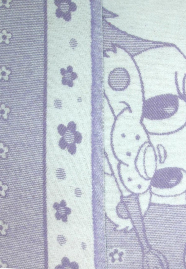 Arloni   фиолетовый Фиолетовое детское одеяло Arloni   Clouty