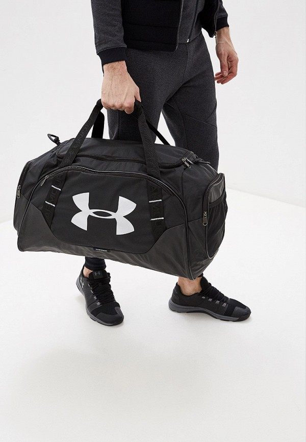 Under Armour | черный Черная спортивная сумка Under Armour | Clouty