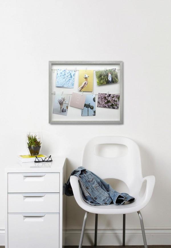 Umbra | серый Держатель для фотографий Umbra | Clouty
