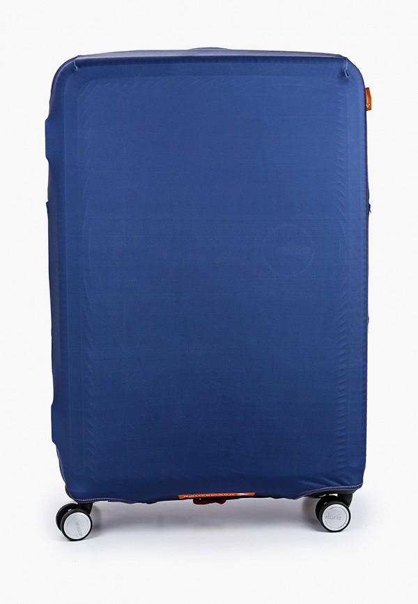 Routemark   синий Чехол для чемодана Routemark   Clouty