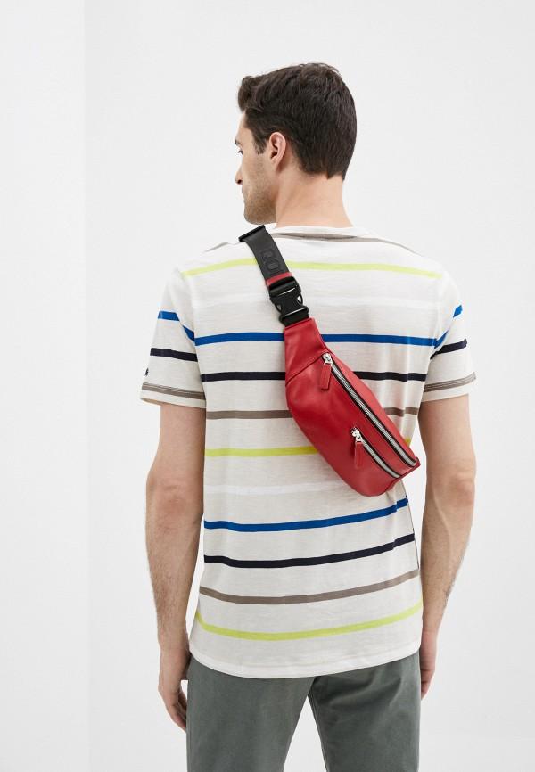Qoper   красный Красная поясная сумка Qoper   Clouty