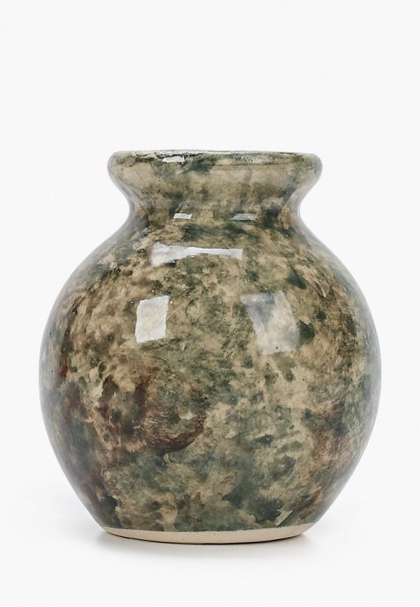 KVI   зеленый Зеленая ваза KVI   Clouty