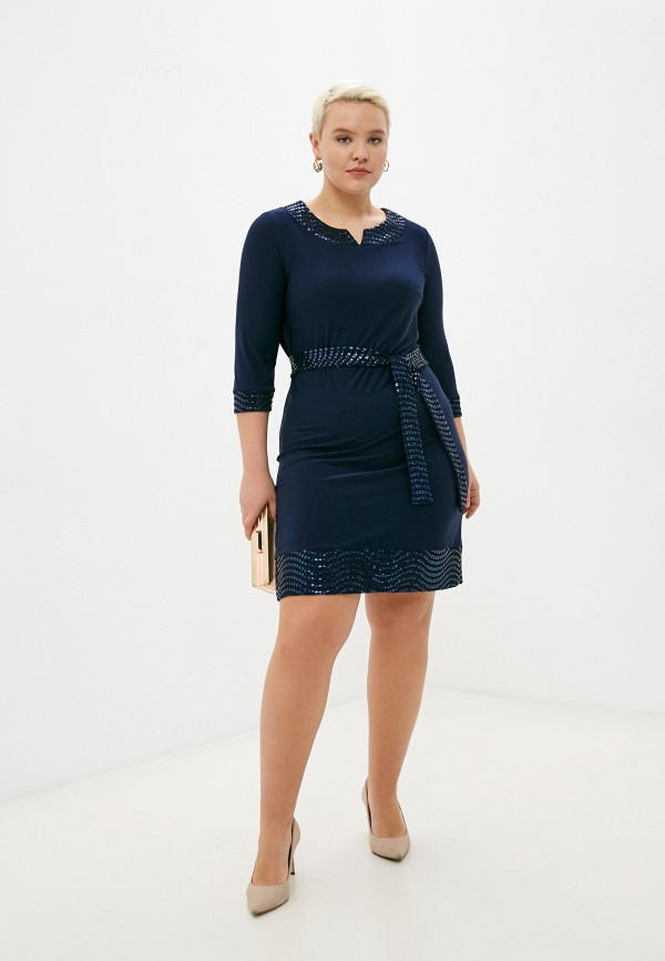 Malena   синий Платье Malena   Clouty