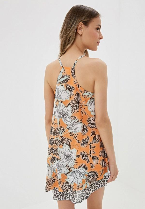 Amarea | оранжевый Летнее оранжевое пляжное платье Amarea | Clouty