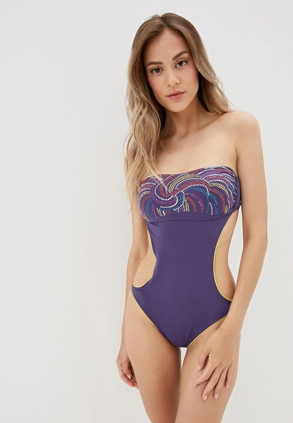 Amarea   Летний фиолетовый купальник Amarea   Clouty