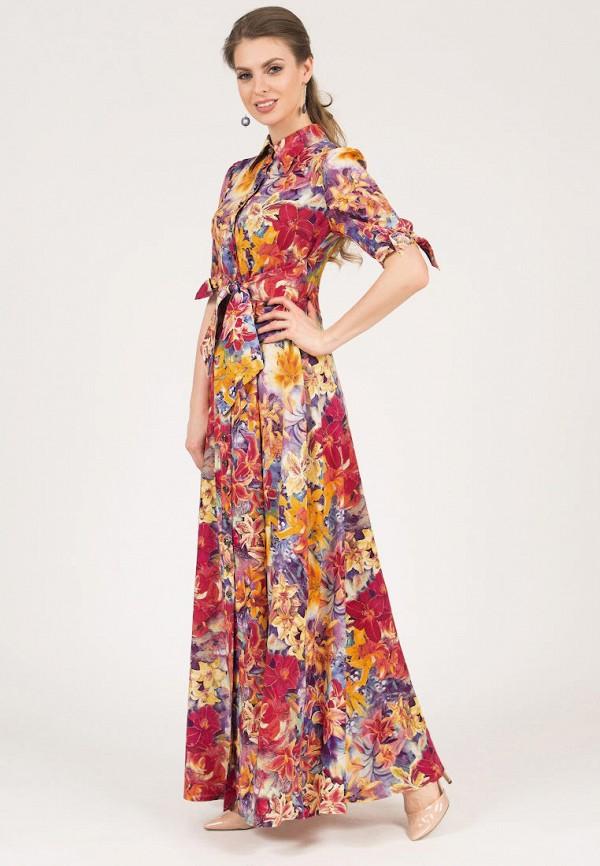 Olivegrey   мультиколор Женское летнее платье Olivegrey   Clouty