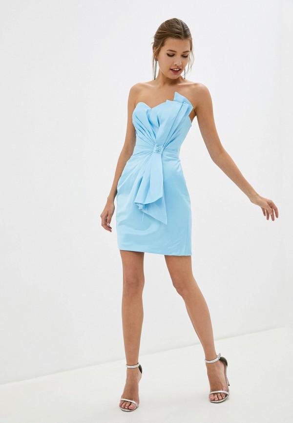 Amour Bridal   голубой Платье Amour Bridal   Clouty