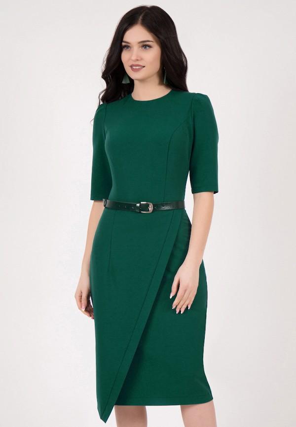 Grey Cat | зеленый Женское зеленое платье Grey Cat | Clouty