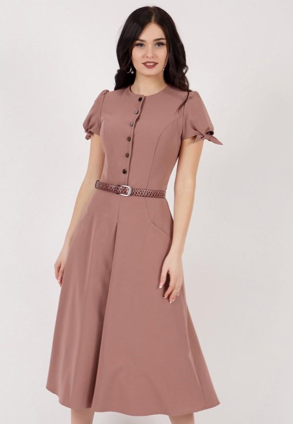 Grey Cat   розовый Летнее розовое платье Grey Cat   Clouty
