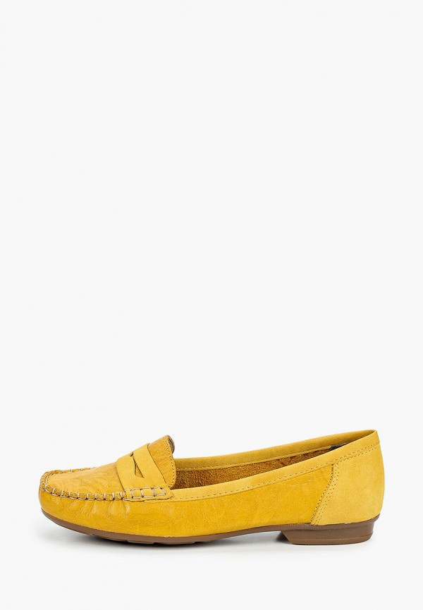 Rieker | желтый Мокасины Rieker | Clouty