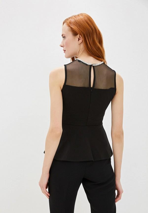 INCITY | черный Женская черная блуза INCITY | Clouty