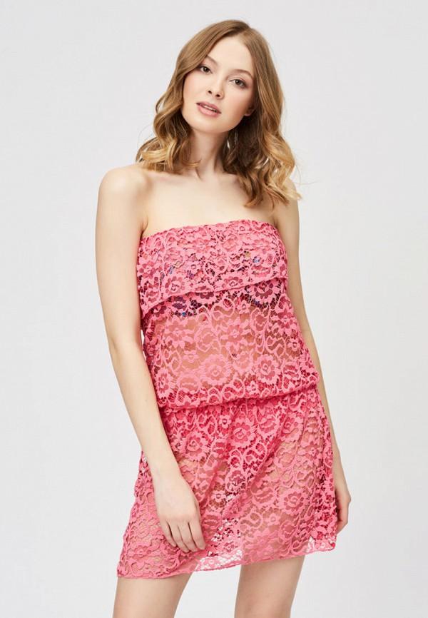 Argento | розовый Летняя розовая пляжная туника Argento | Clouty