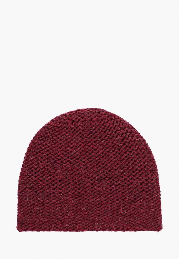 Flioraj | бордовый Женская зимняя бордовая шапка Flioraj | Clouty