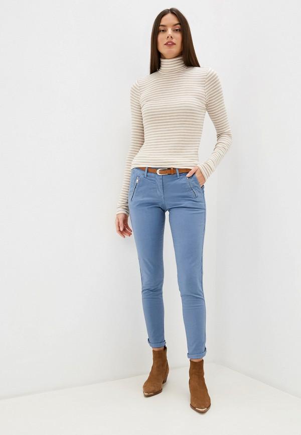 Grafinia   голубой Женские голубые брюки Grafinia   Clouty